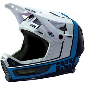 IXS Xult Fullface-kypärä, night blue/blanc